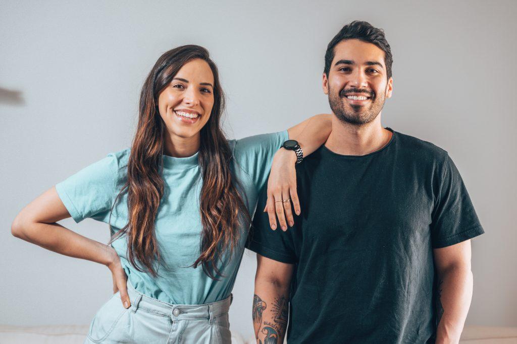 Rodrigo Purchio e Roberta Pacheco